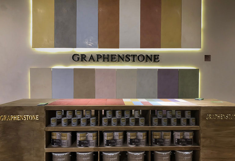 The Gallery. Graphenstone fábricas y showrooms