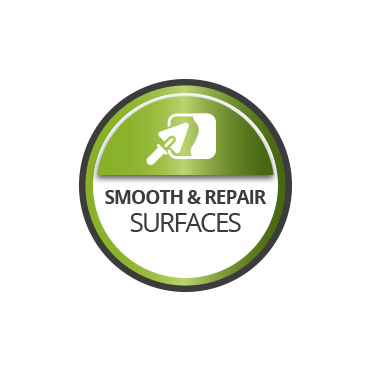 Smooth and repair surfaces