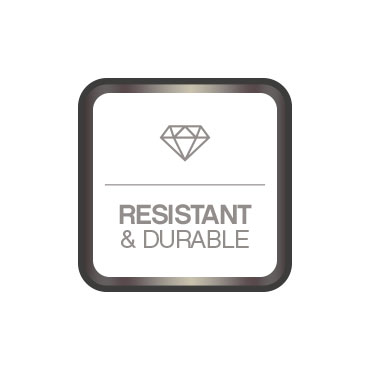 Resistant and durable