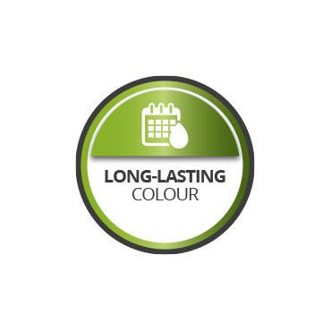 Long lasting colour