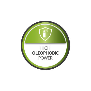 Oleophobic power