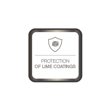 Lime coating protection