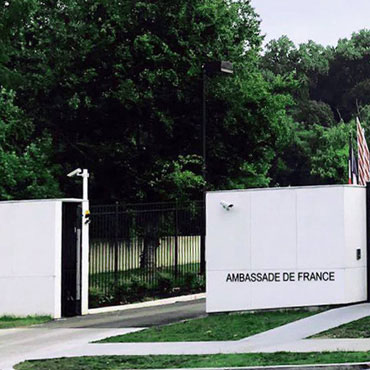 Graphenstone renovation of the Embassy of France in Washington