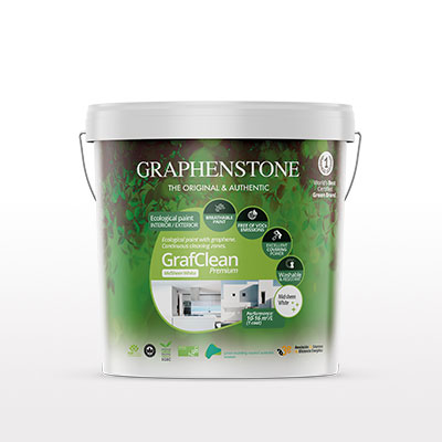 Ecological paint with graphene