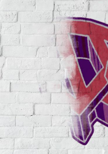 Anti-graffiti treatment for walls