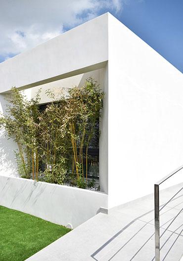 Graphenstone Skyline housing by Larcosta International