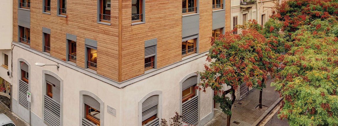 Graphenstone Ecobuilding Barcelona, ecological housing