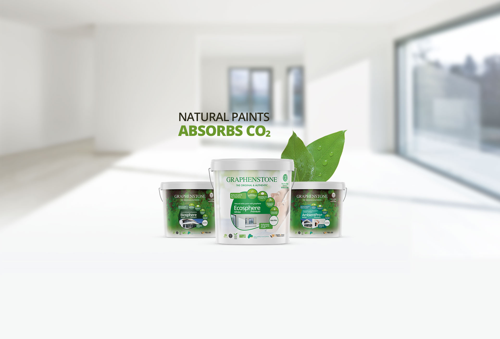 Graphenstone natural paints
